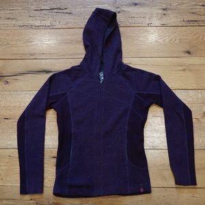 Mountain Hardwear zip midlayer hoodie
